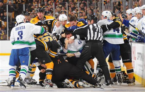 Canucks Vs Bruins Game Day Report Game 13