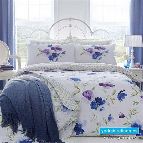 Celestine Blue Duvet Cover Set  Yorkshire Linen Warehouse