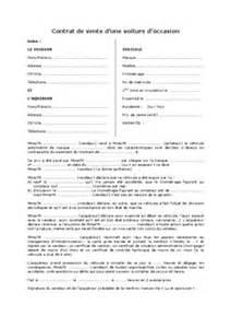 Vente Meuble Occasion Entre Particulier by Contrat Achat Vente Voiture Entre Entreprise Particulier