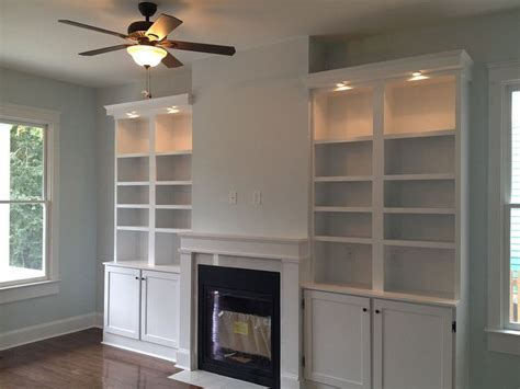 Built In Cupboards Next To Fireplace by Shelves Next To Fireplace Fireplace Shelves Flickr