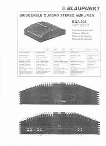 Blaupunkt Bqa 208 Service Manual Download  Schematics  Eeprom  Repair Info For Electronics Experts
