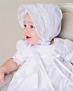 Simple Baptism Baby Clothing Dress Floor Length White ...