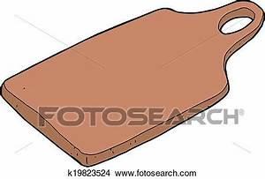 Planche A Découper Grand Format : clipart planche d couper k19823524 recherchez des clip ~ Dailycaller-alerts.com Idées de Décoration