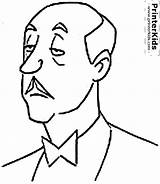 Batman Alfred Coloring Pages Clipart Butler Face Draw Pennyworth Outline Valet Cliparts Cartoon Printable Person Library Clip Clipground Colorear Para sketch template