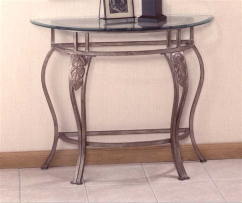 top console tables hillsdale bordeaux console table with glass top 40544 5 5844