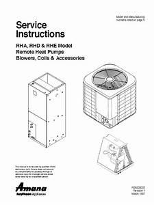 Amana Hvac Ac Manual