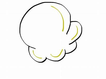Popcorn Kernel Clipart Template Drawing Clip Piece