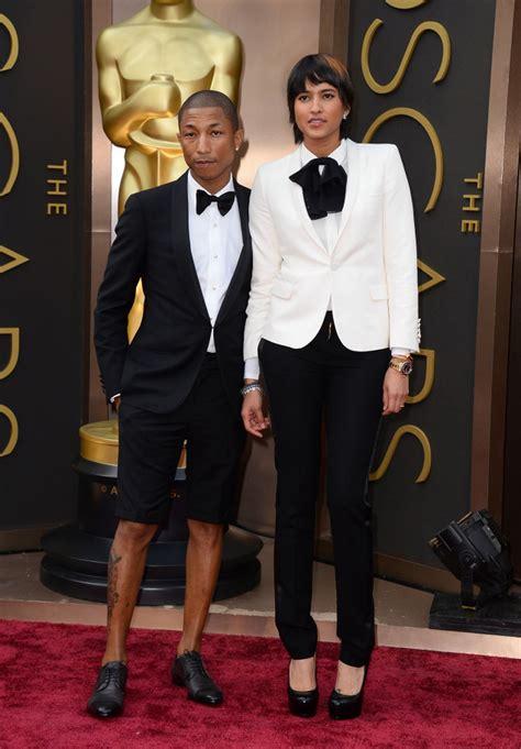 oscars  pharrell williams wears tuxedo shorts