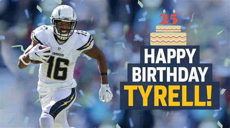 Happy 25th Birthday To @tyrellwilliams_! Https
