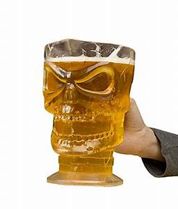 Fun World Halloween Clear Skull Beer Pitcher - Great Bartender
