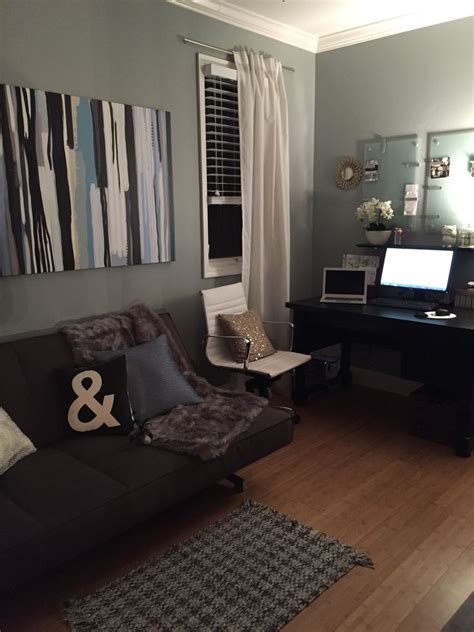 Living Room With Futon by Home Office With Futon Cb2 Potterybarn Target Lamara