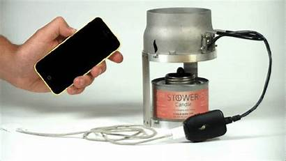 Candle Emergency Charger Works Power Futureentech Smartphones