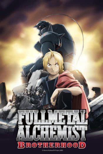 fullmetal alchemist brotherhood anime planet