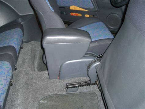 removing rear center console  toyota  xtra