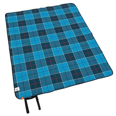 Manta para picnic azul   Decathlon