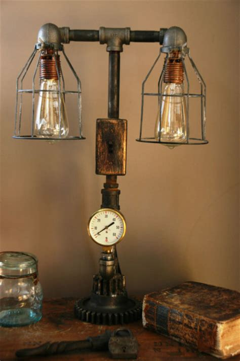 Industrial  Steampunk Table Lamp. Ikea Bathrooms. Thermador Refrigerator Review. Gas Fireplace Mantels. Bunk Bed With Slide. Storage Bench Seat. Marble Fireplace Surround. Cabin Kitchens. Tahari Rugs
