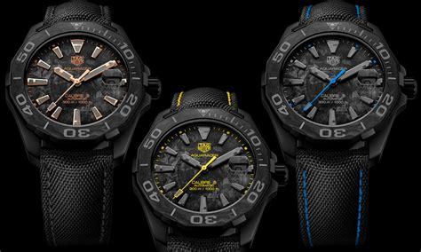 tag heuers carbon aquaracer calibre  watches