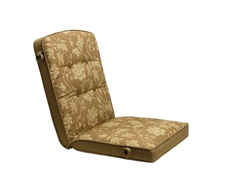 smith cora replacement golden brown chair cushion outdoor living patio furniture