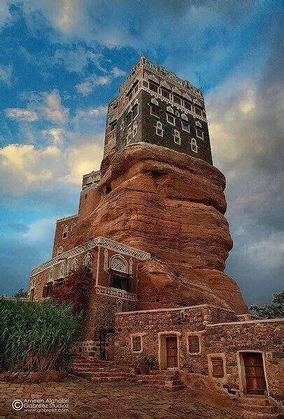 great ancient palace   yemen  images yemen