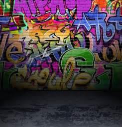 Graffiti wall urban street art painting | Stock Vector ...