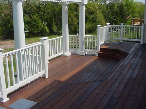 vinyl deck railing parts   steps  creating safe