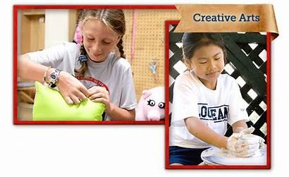 Camp Arts Lochearn Activities Bracelets Beads Crafts