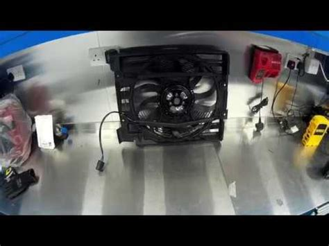bmw e39 m5 air conditioning aux fan change diy how to guide