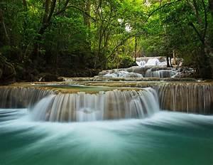 Eigenes Foto Als Fototapete : poster fototapete selbstklebend natur treppenwasserfall ebay ~ Articles-book.com Haus und Dekorationen