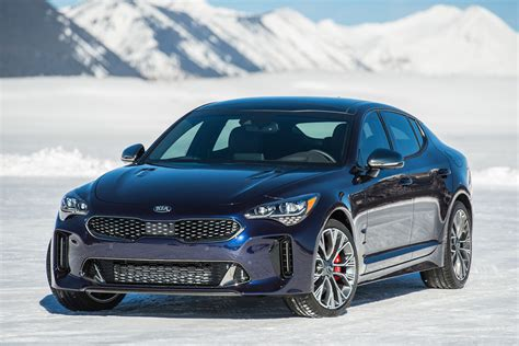 2019 Kia Stinger 2019 kia stinger gt atlantica is all dressed up and blue
