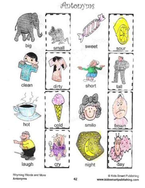 preschool synonyms k 3 antonyms worksheets my favorite synonyms and antonyms 527