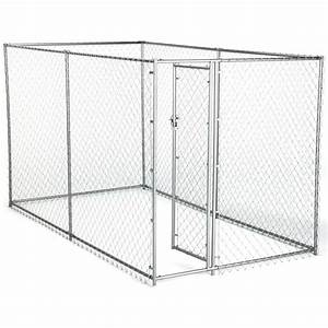 american kennel club 6 ft x 10 ft x 6 ft chain link With chain link dog kennel panels home depot