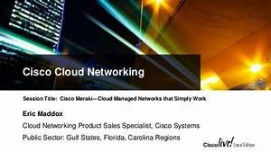 Cisco meraki cloud managed networks-clle-2014