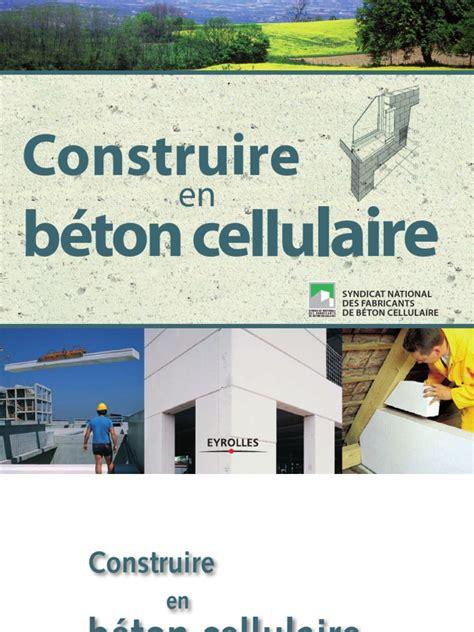 construire en beton cellulaire