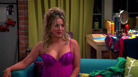 The Big Bang Theory - Penny In Sexy Lingerie - YouTube
