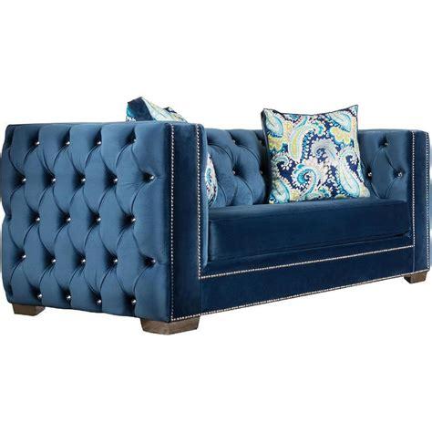 blue velvet tufted sofa best 25 velvet tufted sofa ideas