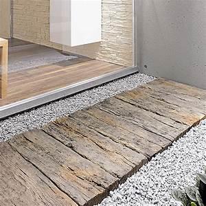 Gehwegplatten Online Kaufen : ehl gehwegplatte beton bahnschwelle naturbraun 22 5 cm x ~ Michelbontemps.com Haus und Dekorationen