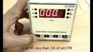 Electronic Overcurrent Relay - User Guide