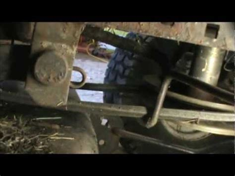 Craftsman Lt2000 Deck Belt Replacement by Sears Craftsman Mower Deck Remove Removal Extraction 42