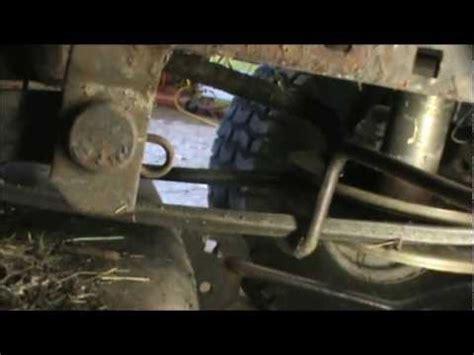 craftsman lt2000 deck belt adjustment sears craftsman mower deck remove removal extraction 42