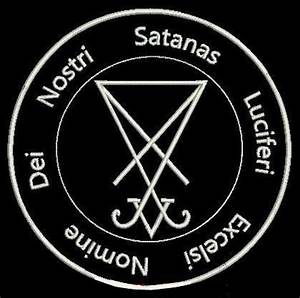 Sigil Of Lucifer badge. | Luz | Pinterest | Badges