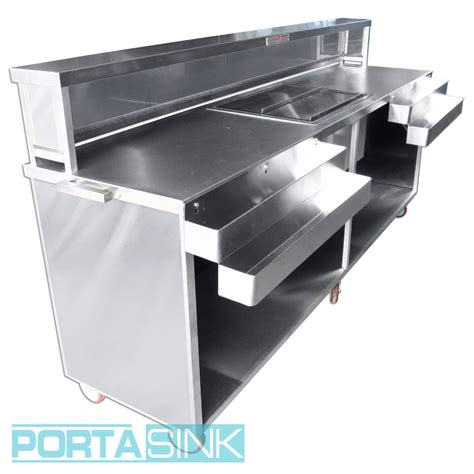 drain kitchen sink portable beverage bar 2 stainless steel portable sink 3450