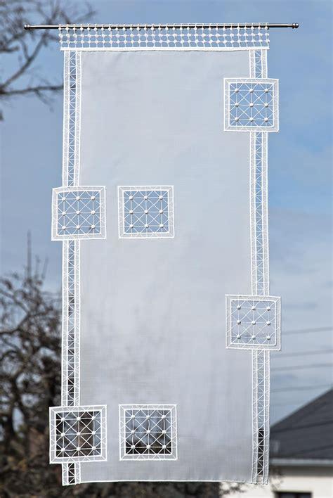 Scheibengardinen Für Große Fenster by Scheibengardinen Plauener Spitze G 252 Nstig Kaufen