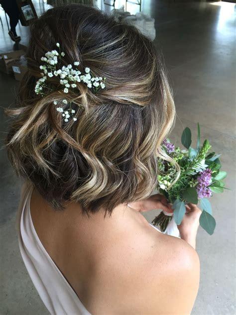 bridesmaid hairstyles  short hair  hairstyles