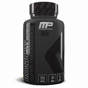 Musclepharm Oxysport Black Thermogenic Weight Loss  120 Capsules