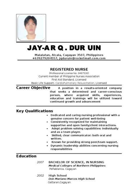 resume updated  nursing patient