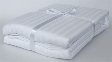certified organic cotton stripe sateen sheet fair