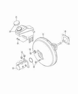 2018 Fiat 500x Booster  Power Brake  Spd  Transmission