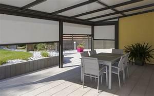 Fabriquer Une Pergola En Alu : construire une pergola en aluminium lux zenithal ~ Edinachiropracticcenter.com Idées de Décoration