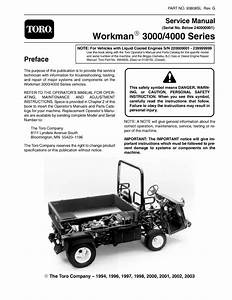 93808sl Pdf Workman 3000  4000 Series  S  N Below 240000000