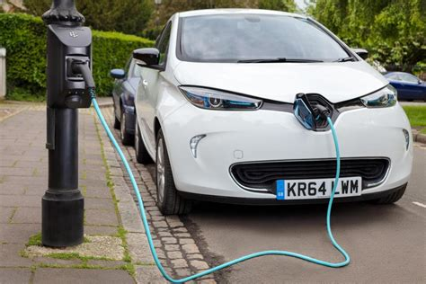 First Public Ev Charging Lamp Posts Installed In London